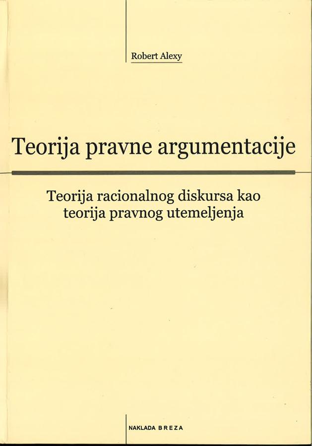 Alexy R. Teorija pravne argumentacije 1