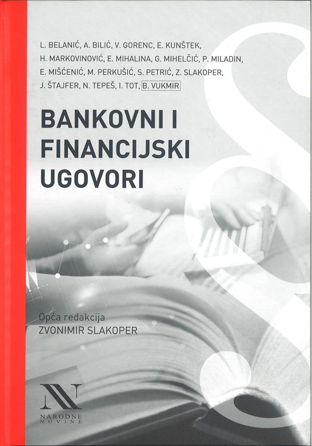 Belanic L. Bankovni financijski ugovori 1