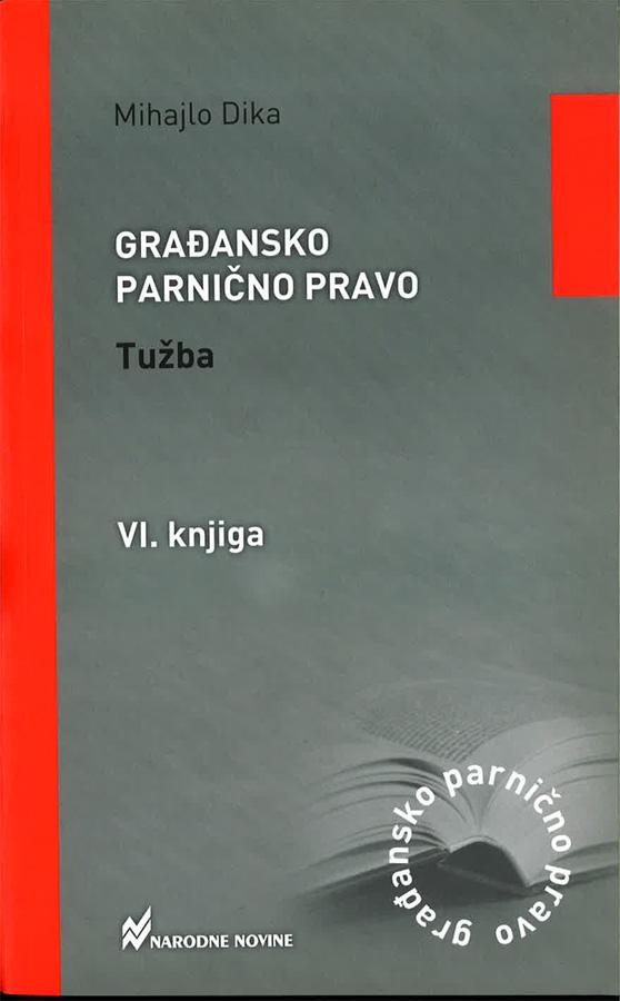 Dika M. Gradansko parnicno pravo tuzba 1