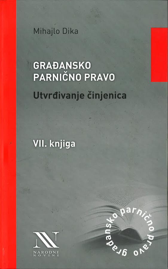 Dika M. Gradansko parnicno pravo utvrdivanje cinjenica 1