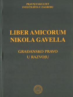 Grupa autora Liber amicorum Nikola Gavella 1 1
