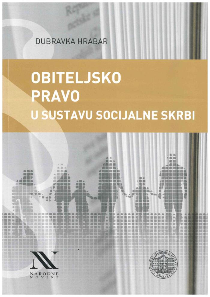 Hrabar D. Obiteljsko pravo u sustavu socijalne skrbi