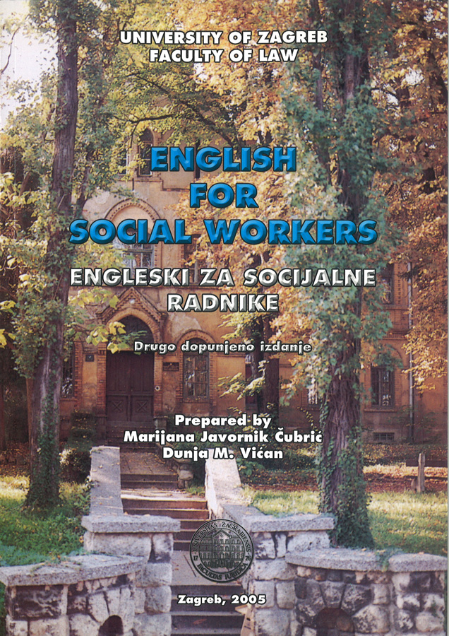 Javornij Cubric M. English for social workers 1
