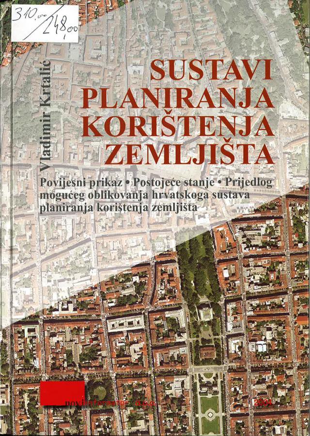 Krtalic V. Sustavi planiranja koristenja zemljista 1