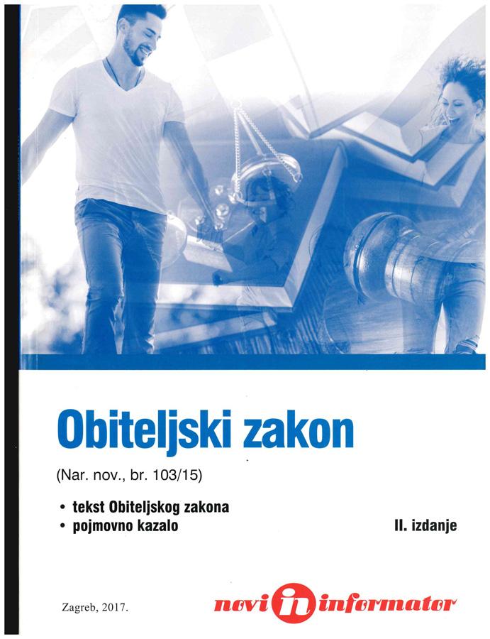 Obiteljski zakon Nar. nov. br. 103 15 1