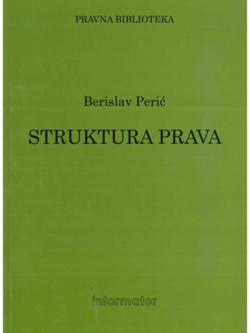 Peric B. Struktura prava 1