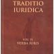 Petrak M. Traditio Iuridica vol. II. Verba Iuris 1