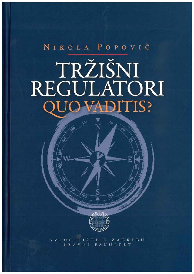 Popovic N. Trzisni regulatori Quo vaditis 1