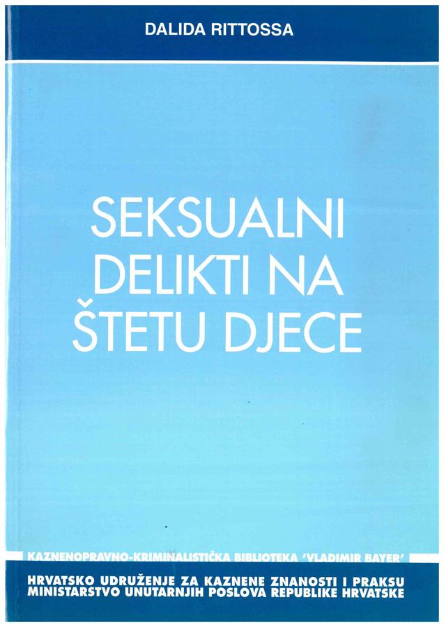 Rittossa D. Seksualni delikti na stetu djece 1