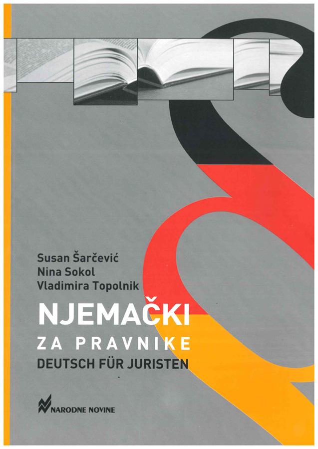 Sarcevic S. Sokol N. Topolnik V. Njemacki za pravnike 1