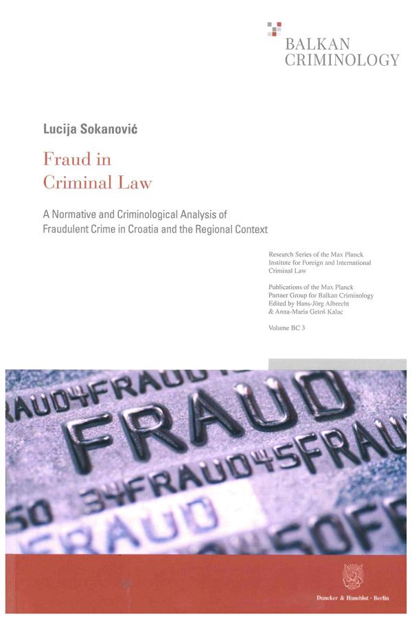 Sokanovic L. Fraud in Criminal Law 1