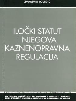 Tomicic Z. Ilocki statut i njegova kaznenopravna regulacija 1