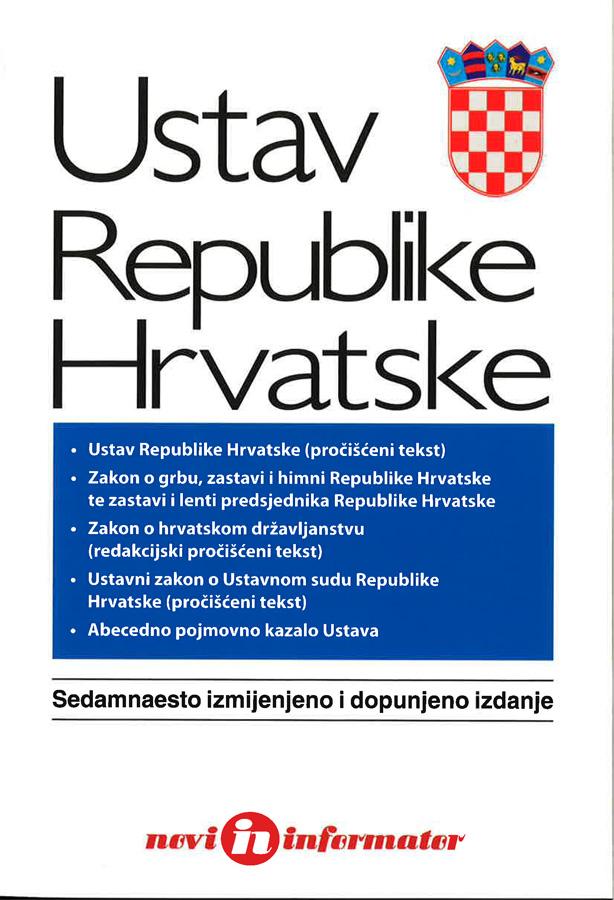 Ustav Republike Hrvatske 1