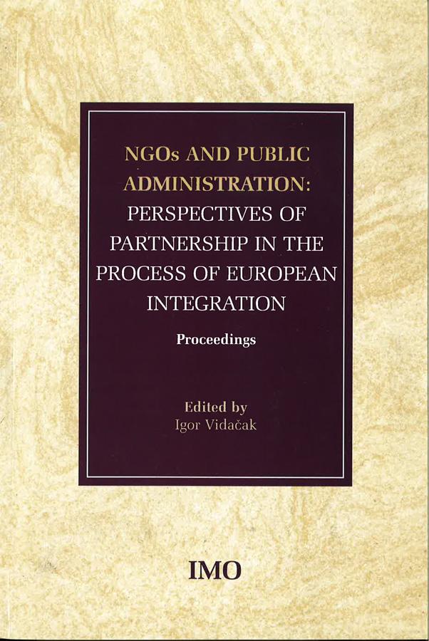 Vidacak I. NGOs and public administration 1